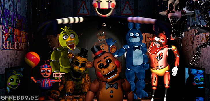 Five Nights at Freddy's Bildern