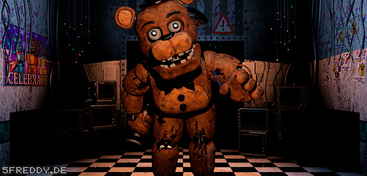 Freddy Fazbear von Five Nights at Freddy's 2