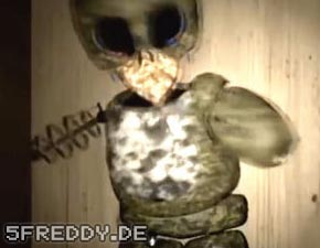 Golden Freddy Jumpscare